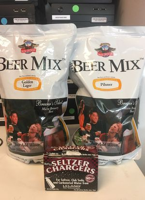 Beer Mix and Seltzer Chargers for Sale in New York, NY