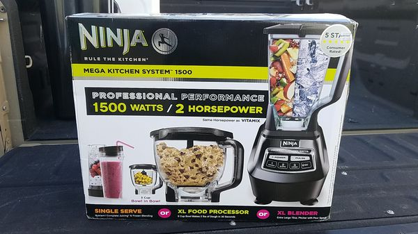 Ninja Mega Kitchen System 1500 for Sale in Riverside, CA - OfferUp