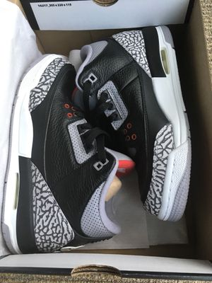 AIR JORDAN 3 RETRO OG SZ 6Y/8W for Sale in Glen Allen, VA