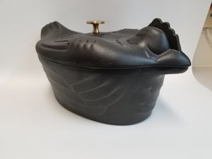 Used, Rare Staub cast iron Chicken Cocette Dutch Oven for sale  Tulsa, OK