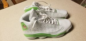 Air Jordan 13 Retro 2005 Lime Green and White for Sale in Frederick, MD