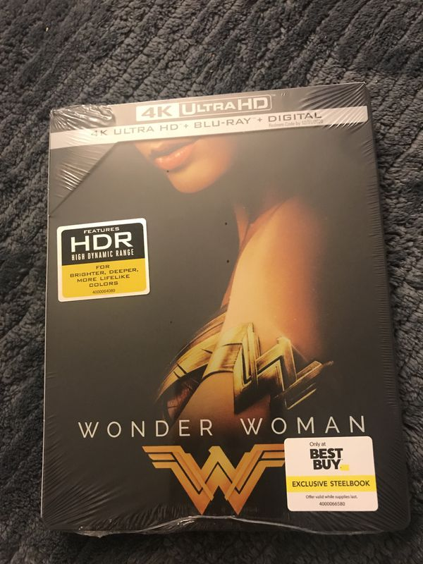 Wonder Woman 4k Uhd Steelbook Brand New For Sale In Anaheim