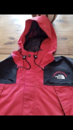 North face Expedition system red and black expedition system jacket size large for Sale in New York, NY
