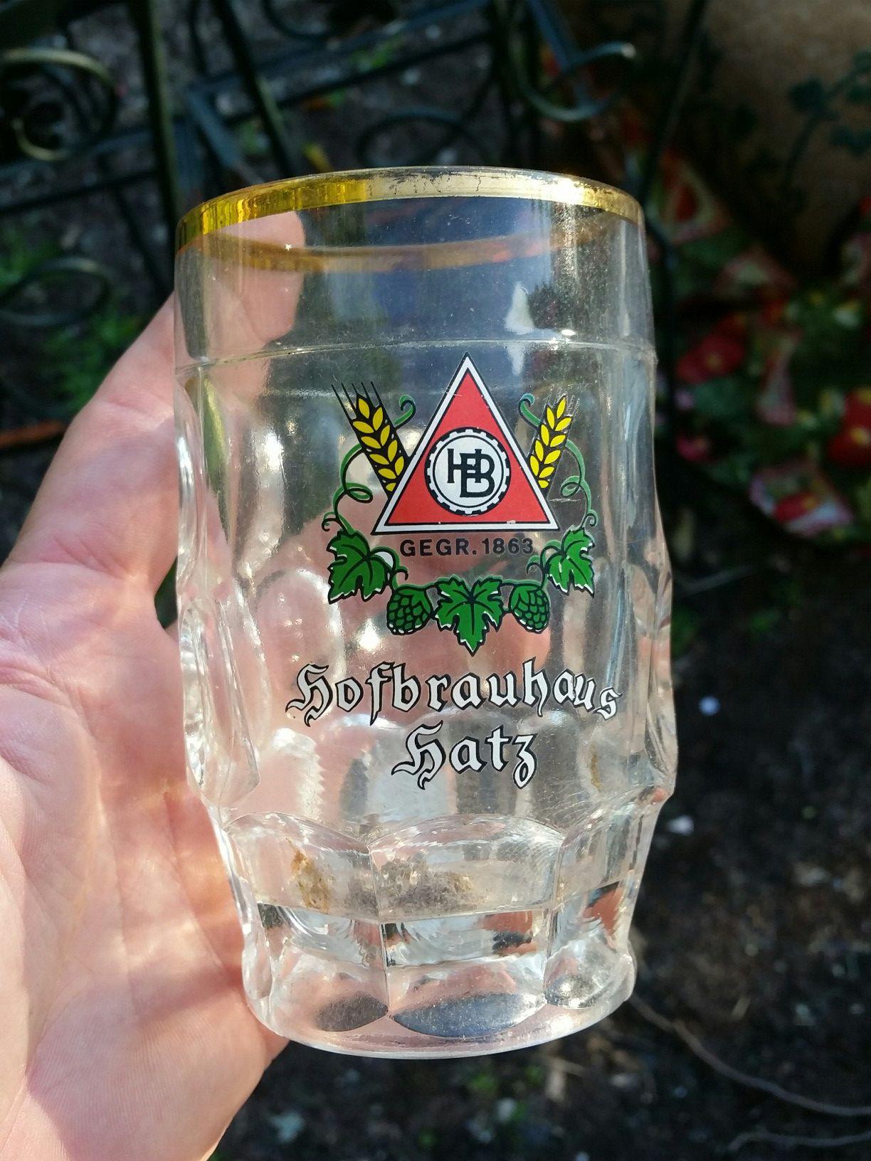 Some kind of old beer advertising mug