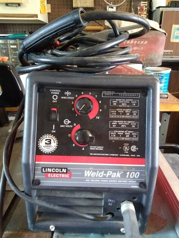 Lincoln Electric Weld Pak 100 M16930 1