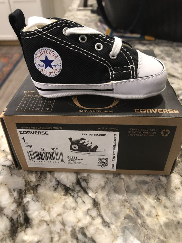 e9c93cc9fbac95 Converse new baby shoes size 1 (Baby   Kids) in Beaverton