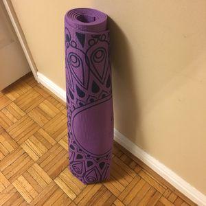 Lotus yoga mat for Sale in Salt Lake City, UT