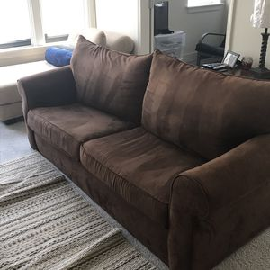 Brown suede for Sale in St. Louis, MO
