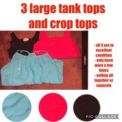 Tank tops and crop tops Thumbnail