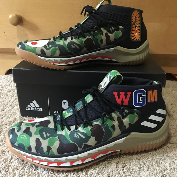 c8279d897 ADIDAS BAPE DAME LILLARD 4 - Size 11.5 for Sale in Vancouver