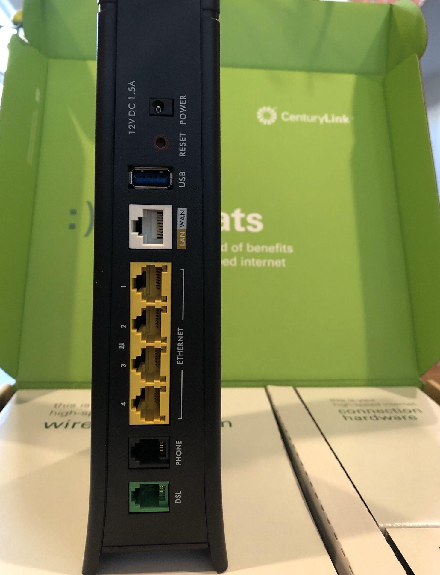 Century Link Internet Modem Router $50 OBO