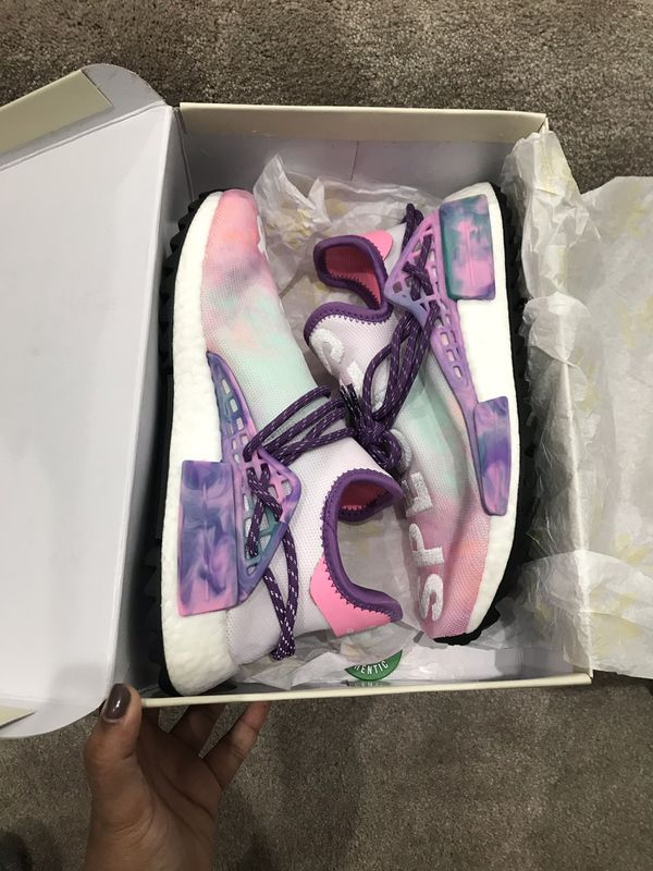 558c0d1ee Adidas Pharrell Williams Human Race Holi Pack Pink Glow colorway size 7.5  men s (9 women s) for Sale in Artesia