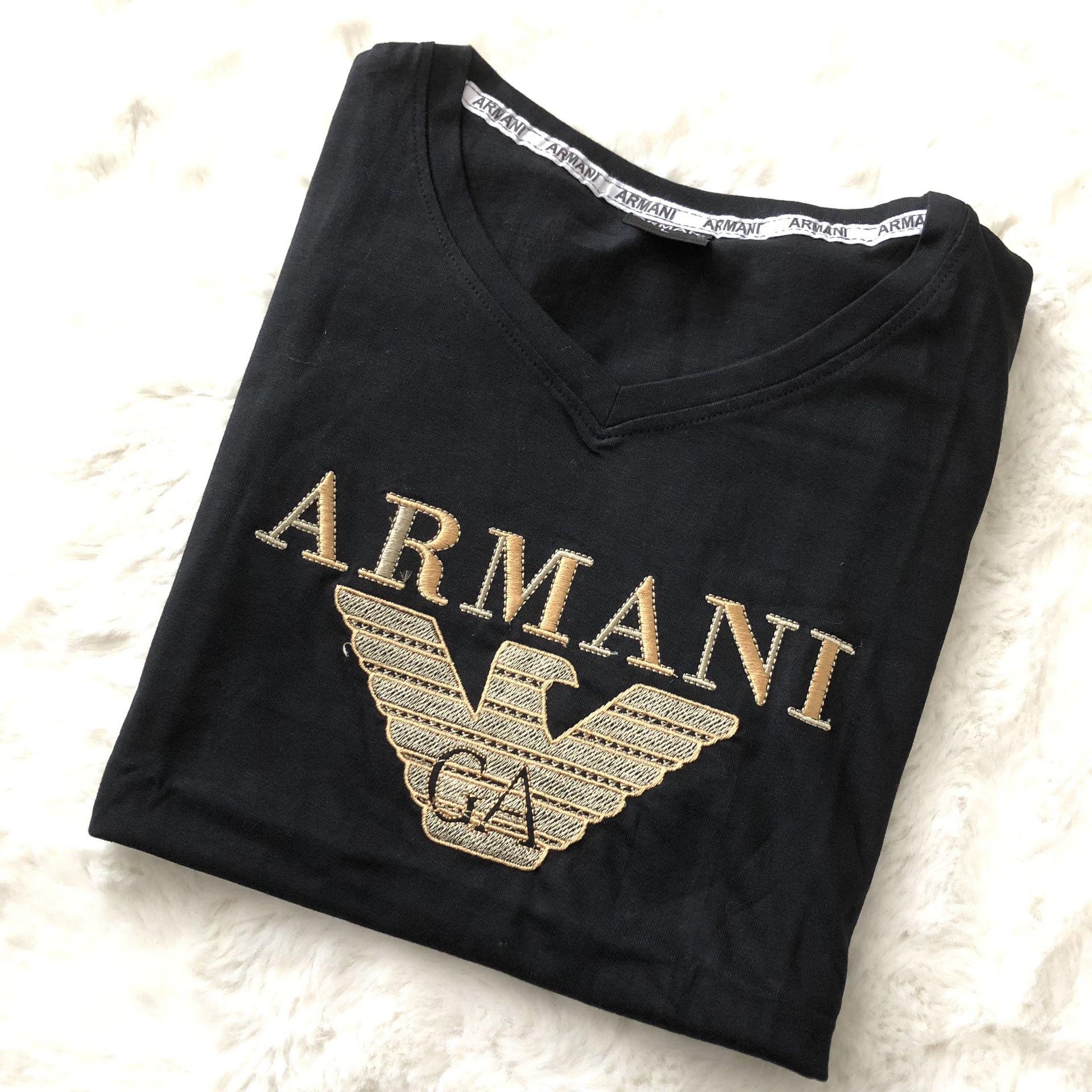 Armani V-neck T-Shirt Women (Small)
