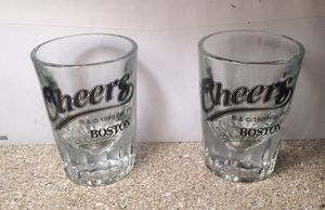 Authentic Cheers Bar Shot Glasses for Sale in Apex, NC