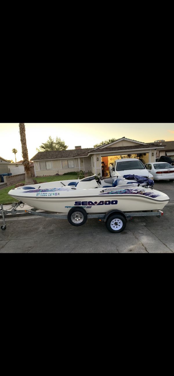 1999 seadoo sportster 1800, twin rotax 18� jet boat, trade for ktm
