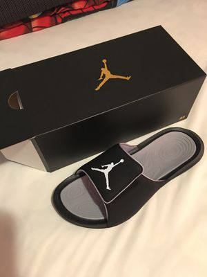 Photo Brand new Jordan Flip Flops. Size 11. Box etc