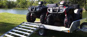 ❄️2 ATV's☃️ w/Trailer. Honda2007 -Foreman4x4 for Sale in Salt Lake City, UT