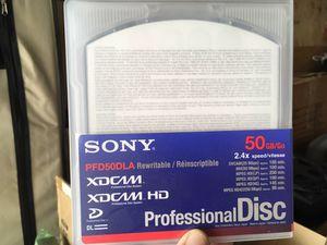 Sony XDCAM 50GB Dual Layer Disc- PFD50DLA for Sale in Santa Monica, CA