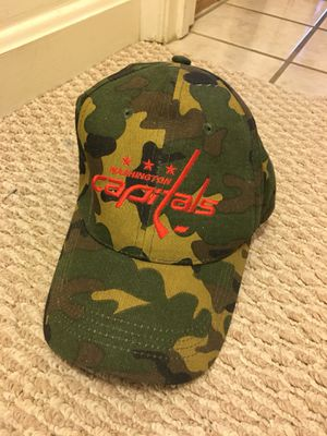 Washington Capitals Hat - camo, limited edition! for Sale in Tysons, VA