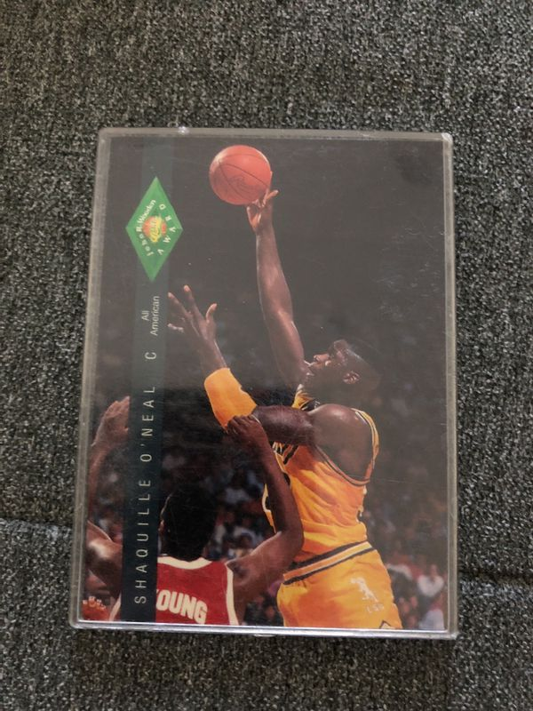 Shaquille Oneals Rookie Card For Sale In San Diego Ca Offerup