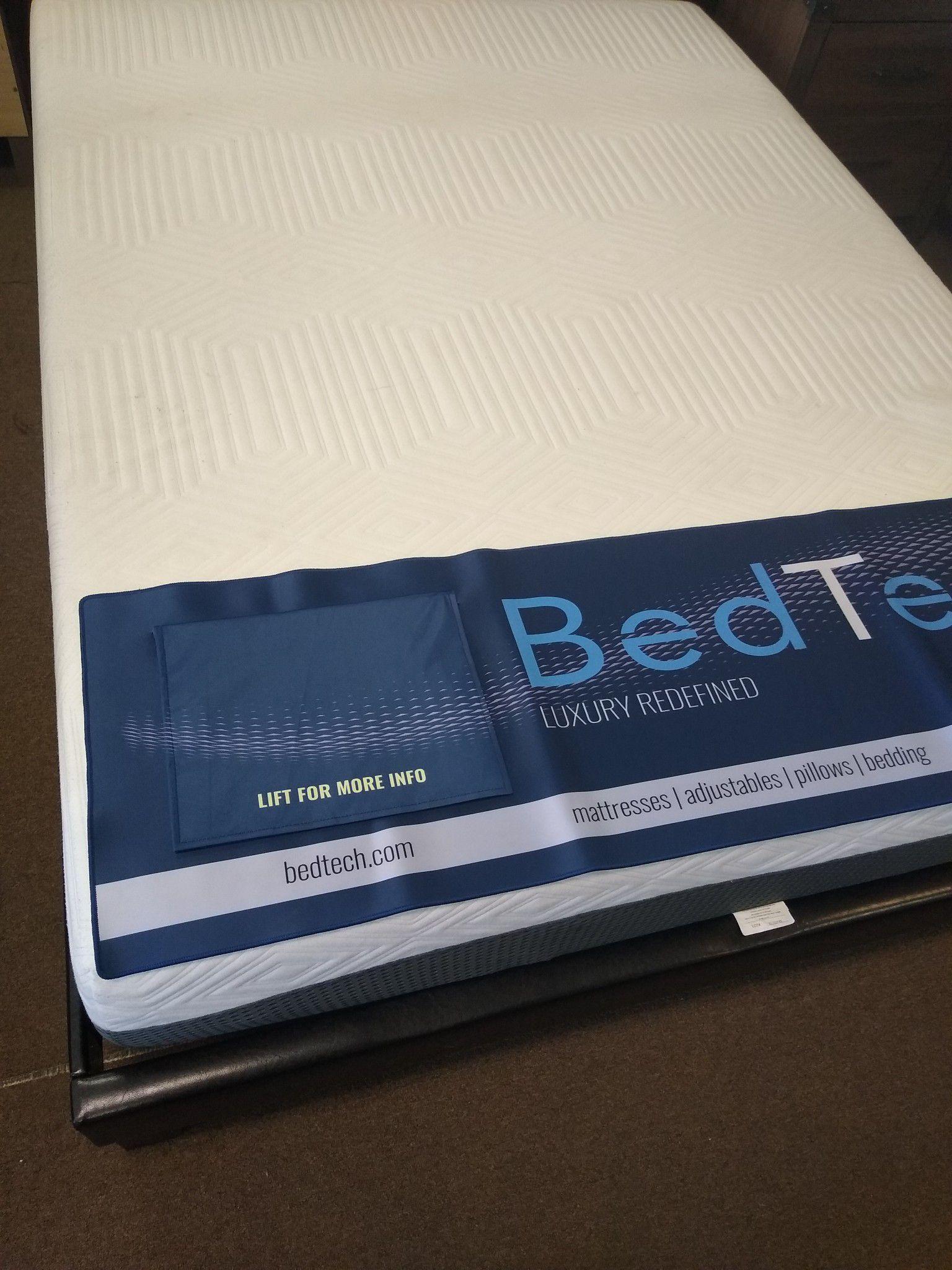 Queen size 10 inch BedTech Pure Gel Memory Foam Mattress