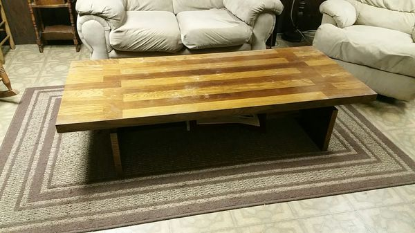 Coffee Table 4 Ft Long By 30 Inch Wide