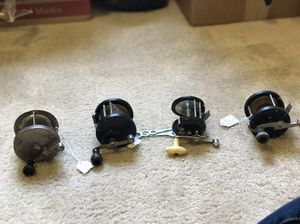 Fishing reels lot for Sale in Fresno, CA