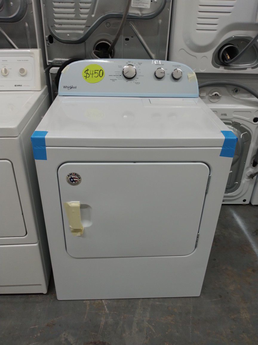 Whirlpool From Load Dryer New Scratch And Dent