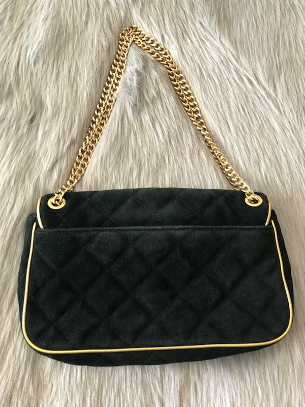 cd5d43693860 Michael Kors black suede purse for Sale in Ontario, CA - OfferUp