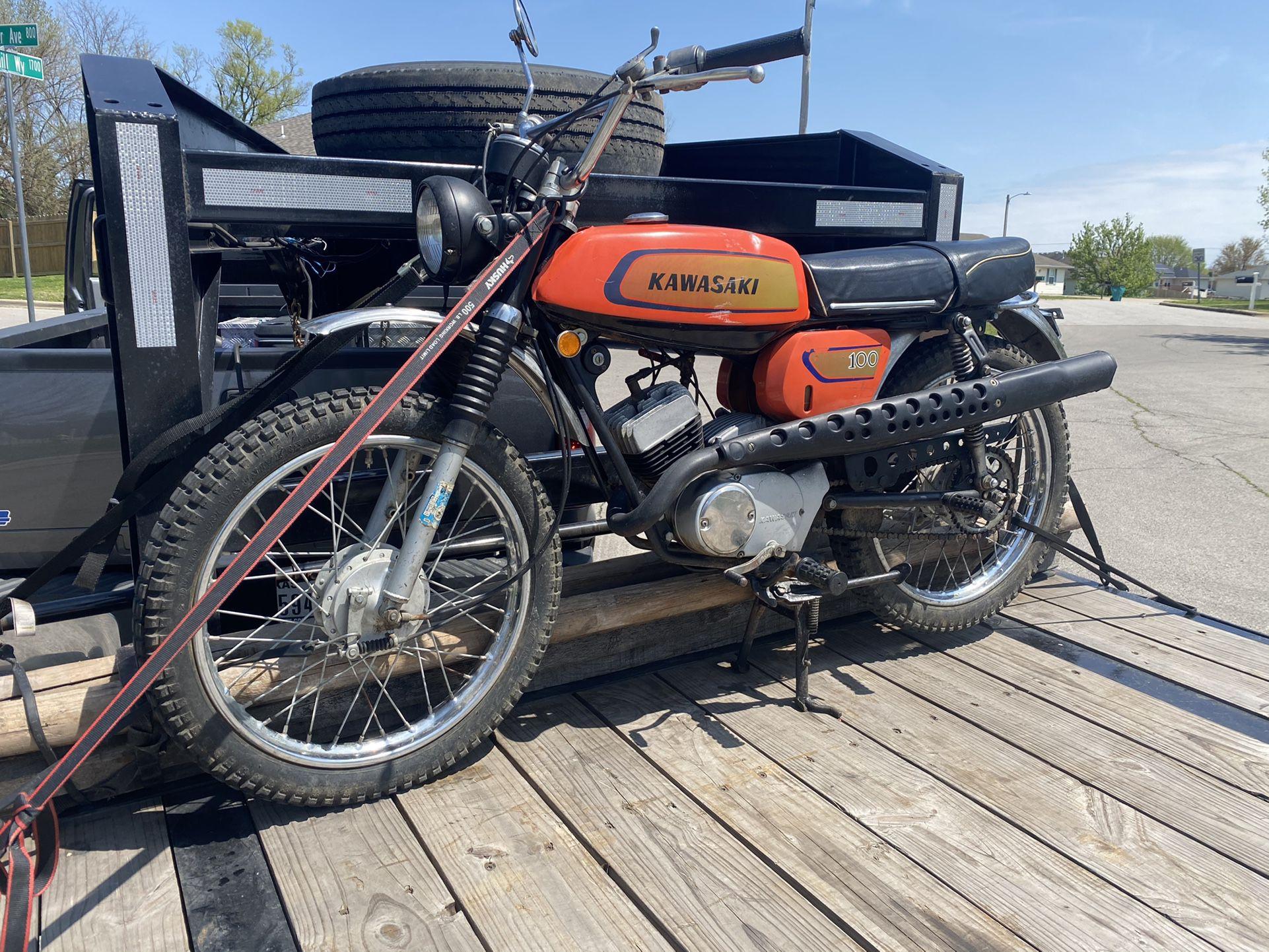 1971 kawasaki 100 cc G3TR-A