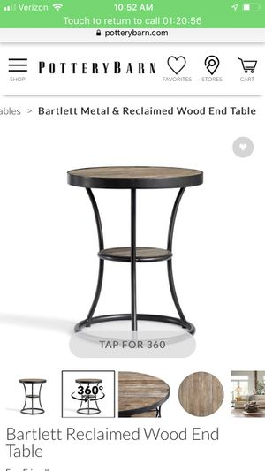 33f39024f2ce1 Bartlett reclaimed wood end table for Sale in Los Angeles