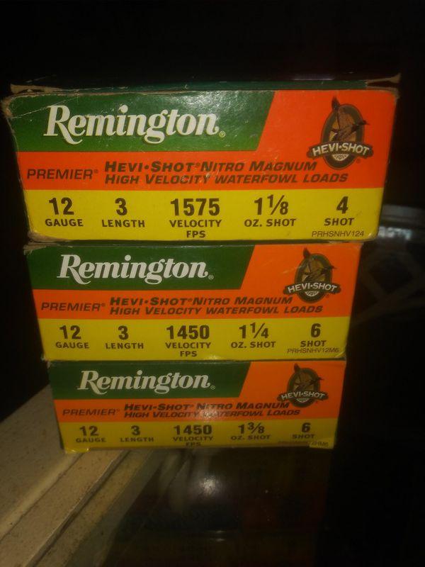 Remington Hevi-shot Nitro mag waterfowl stuff for Sale in Grand Rapids, MI  - OfferUp