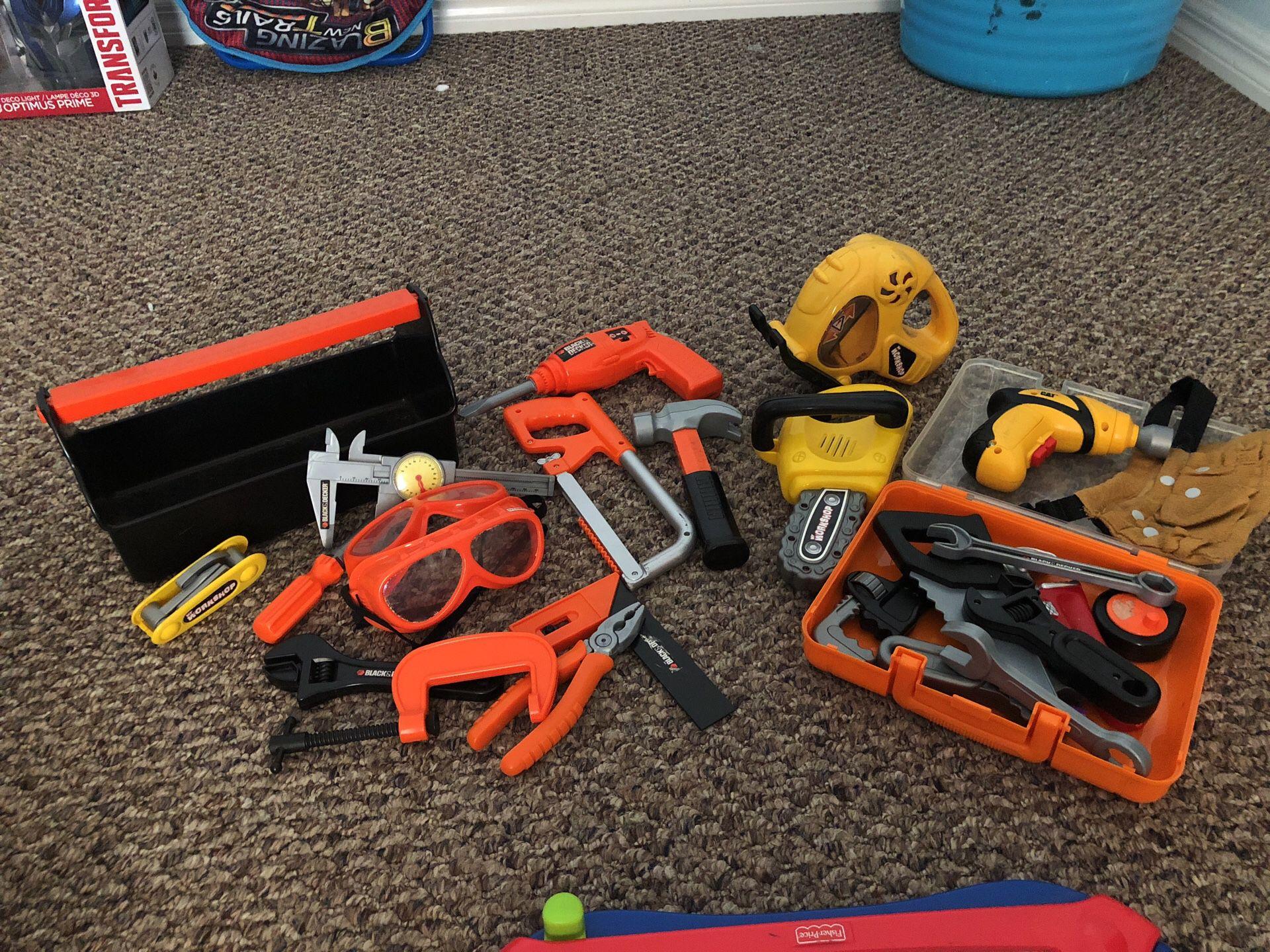 Kids tools set