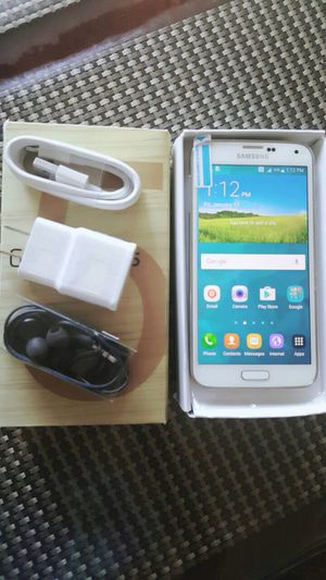 Samsung Galaxy S5,,,16gb...Factory Unlocked Excellent Condition for Sale in Springfield, VA