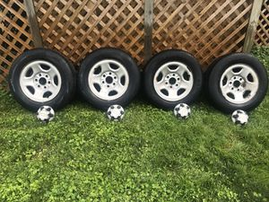 2003 Chevrolet Astro wheels and tires for Sale in Washington, DC