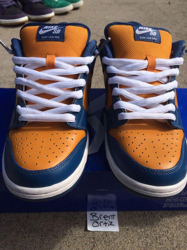newest 2a5e5 55b22 Nike SB dunk Sunset French blue sz 8.5