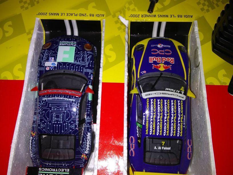 Lemans slot racecar track