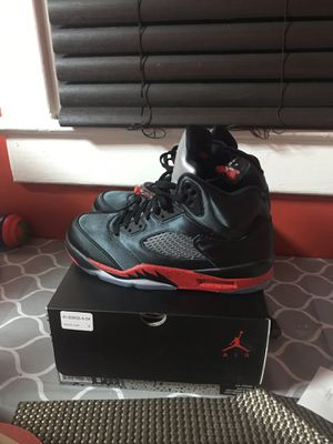 Jordan Retro 5 Nov 2018 8.5 with receipt of purchase from foot action. for Sale in Washington, DC