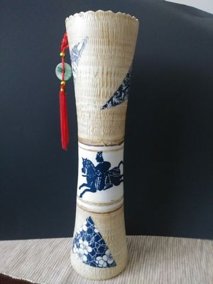 Ceramic Oriental Hand Painted Vase for Sale in Southington, CT