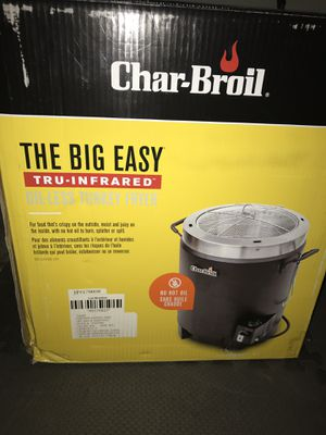 Char-boil TRU-Infrared Oil Less Turkey Fryer for Sale in Austin, TX