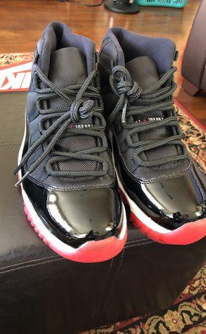 "buy popular 3f4d3 9914c Nike Air Jordan Retro 11 Size 11 ""Bred"" Black Red  New"