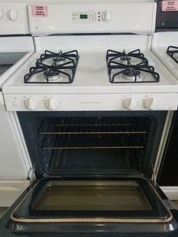 GE white gas stove Thumbnail
