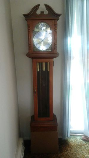Tempus fugit grand father clock for Sale in Pacific, WA