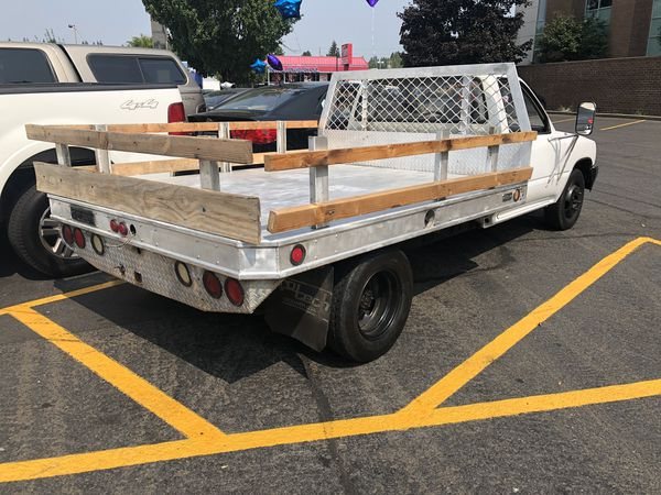 1989 Toyota Pickup Dually 1 Ton With Aluminum Bed And Clean Title
