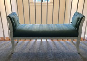 Vintage Fabric Bench for Sale in Rockville, MD