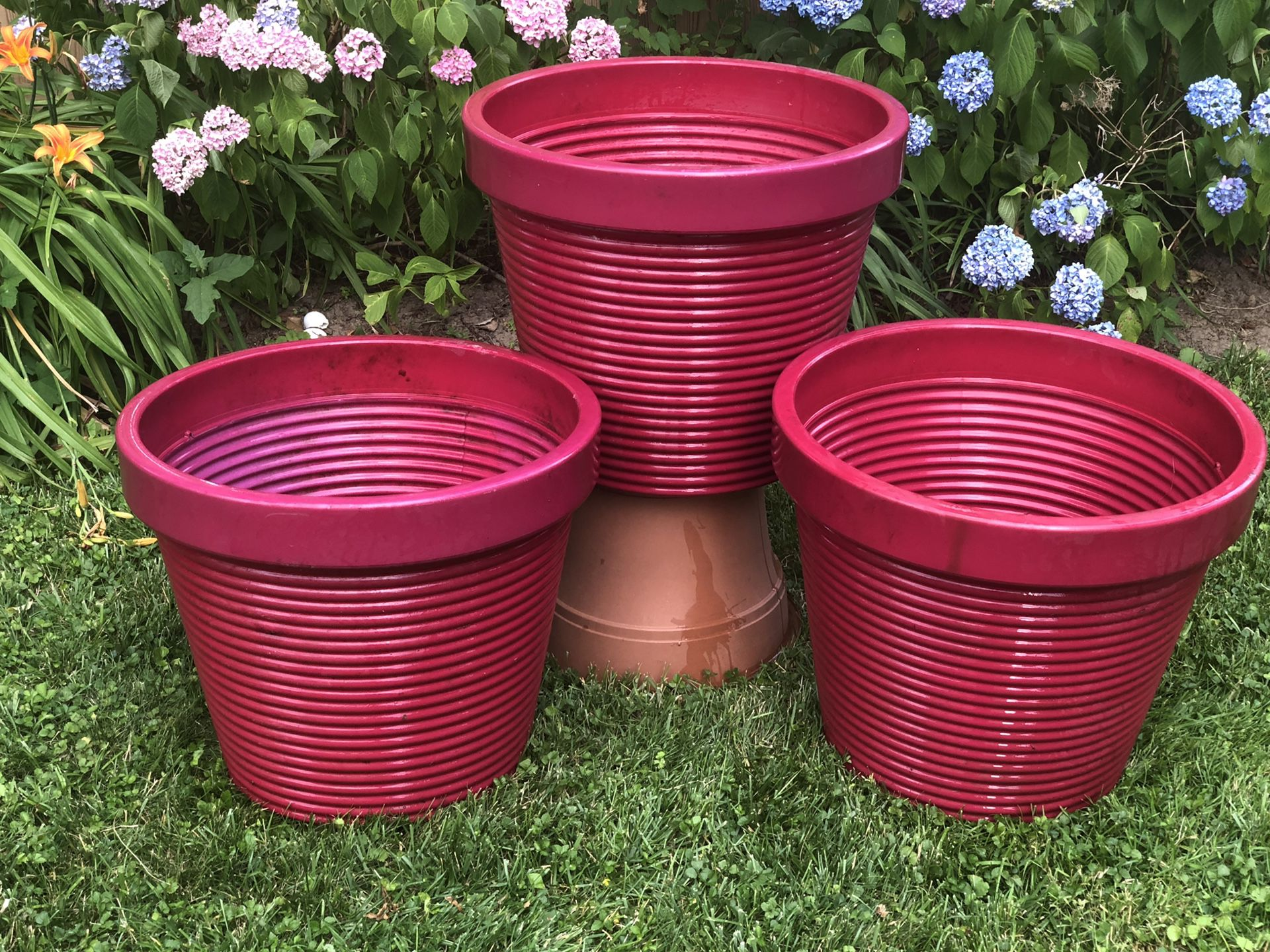 Extra large tree pot garden planters