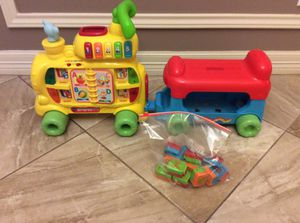 VTech Sit-to-Stand Alphabet Train toy for Sale in Austin, TX