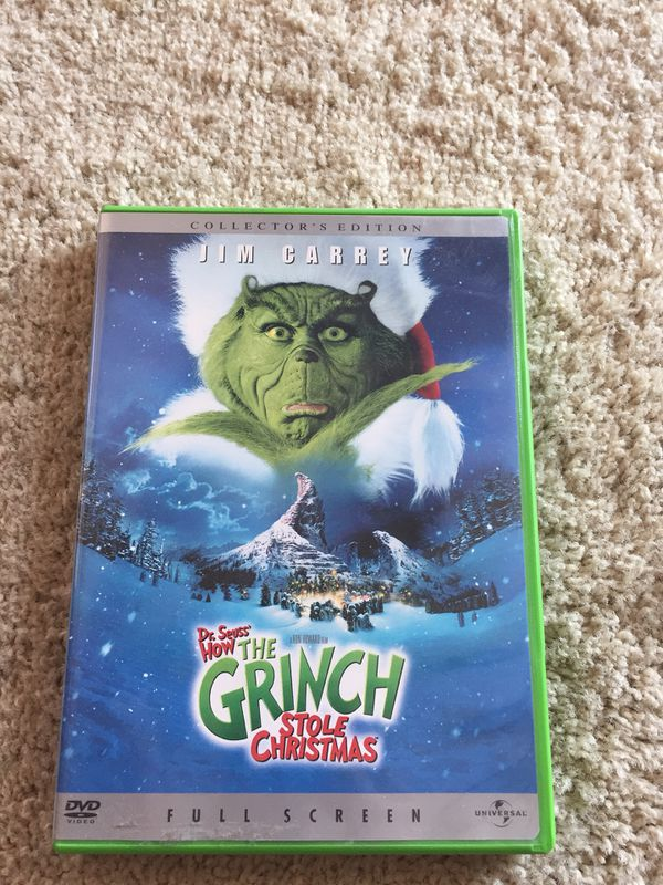 The grinch who stole Christmas Jim Carrey for Sale in Garden Grove ...