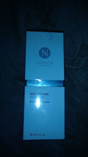 Nerium agree defying night cream unopened, used for sale  Tulsa, OK