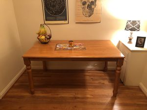 Wooden Dining Room Table for Sale in Bethesda, MD